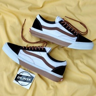 Vans Old Skool白色黑色棕色