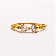 Restock Cincin josean wanita model pita stylish emas asli kadar 875 emas asli
