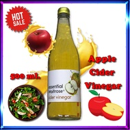 Cider Vinegar essential Waitrose 500ml.