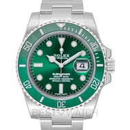 Rolex Submariner Steel Automatic Green Dial Men's Watch 116610 LV