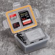 三重☆大人氣☆ KINGMA NP-FZ100 電池 記憶卡 收納盒 ILCE-9 A7III A7R3 A9 電池用