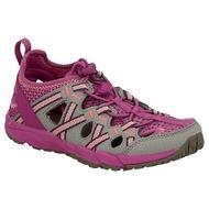 《台南悠活運動家》MERRELL  HYDRO CHOPROCK童護趾運動涼鞋 灰紫 161229