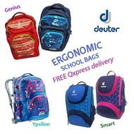 2019 ERGONOMIC School Bags Backpacks for Kids Children {DEUTER}