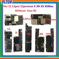 For iphone 11 11Pro 11Promax motherboard unlocked,100% Original for iphone 11 11 pro max Logic board without face id fre
