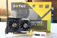 iHAVECPU การ์ดจอ ZOTAC GeForce GTX 1050 Ti 4GT OC