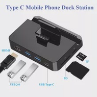 Hub-Holder Switch Docking Station HDMI Mobile-Phone Huawei Type-C Samsung To USB