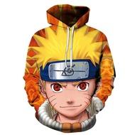 2020 New Naruto Kakashi New sweatshirts cosplay costume Naruto Anime hoodies 3D Men Women hoodies clothing Top Naruto Uzumaki