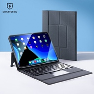 SmartDevil Keyboard Protect Case For Apple iPad Pro 12.9/11 inch iPad Air 2/3/4 iPad 10.2/9.7 inch Tablet 10.9 Bluetooth Magic Control 8 With Pen Slot Tablet Case Cover