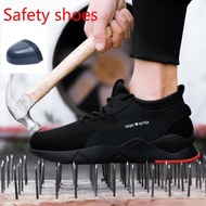 Size39-49安全鞋#safety shoes#Steel toe#Safety shoe#kasut kerja#men shoe#kasut safety#safety shoes#sports shoes#safety boots#safety boot#safety jogger#Safety shoes Outdoor work equipment labor protection shoes glow-in-the-dark shoes men's shoes
