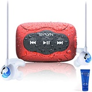 Swimbuds Sport Headphones and 8 GB SYRYN Waterproof MP3 Player with Shuffle Feature (Renewed)
