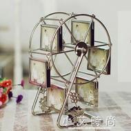 相框相冊組合禮物女朋友大風車旋轉摩天輪相框婚紗兒童禮物相架組合.