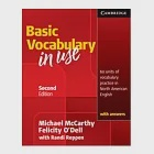Basic Vocabulary in Use: 60 Units of Vocabulary Practice in North American English: With Answers
