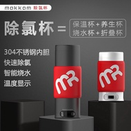 Mokkom Grinding Away Portable Stainless Steel Foldable Magic Cup