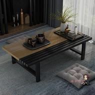 榻榻米矮桌 飄窗小茶几炕桌家用日式榻榻米桌子矮桌飄窗小桌子坐地創意多功能T 3色