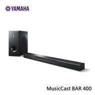【Yamaha山葉】藍芽無線家庭劇院 SoundBar MusicCast BAR 400 (YAS-408)