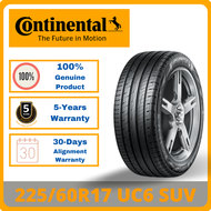 [INSTALLATION] 225/60R17 Continental UC6 SUV *Year 2020/2021 TYRE (1-7 days delivery)