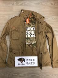 跩狗嚴選 正品 極度乾燥 Superdry 戰火英雄 Rookie 軍裝夾克 M65 外套 純棉 迷彩內襯 沙岩色