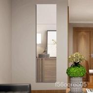 .Household3DThree-Dimensional Mirror Dressing Wall Wallpaper Soft Mirror Full Body Wall Sticker Self-Adhesive Mirror Sti