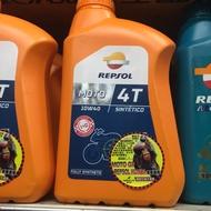 ❤️ REPSOL 6罐 力豹仕  4T 機油 10w40 全合成