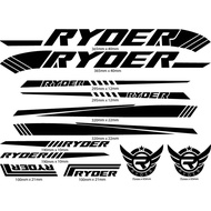 Ryder Frame Decals for Mountain Bike