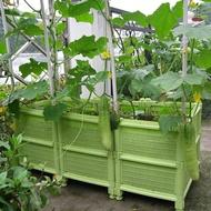 陽台蔬菜種植箱神器樓頂特大花盆家用種菜盆塑膠室外家庭菜園架子 名創家居館DF