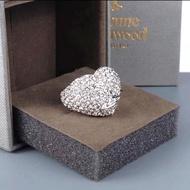 ❤️國外代購 Vivienne Westwood 限量/愛心經典鑽戒/戒指💍✨❤️