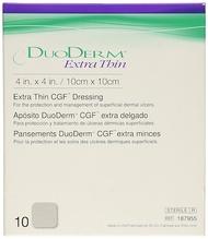 Duoderm Extra Thin 4  x 4  (Local Stock) 10's - 1 Box