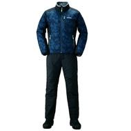 【SHIMANO】MD-055Q 防寒保暖套裝 藍色 2XL