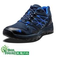 【THE NORTH FACE】 GTX 低筒健行鞋 男款 深藍  抗菌防水透氣  登山健行鞋  A32X