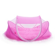 4Pcs Babies Mattress Pillow Portable Foldable Crib With Mosquito Net