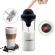 ใหม่เครื่องตีฟองนมอัตโนมัติไฟฟ้า Foamer กาแฟเครื่องตีทำฟองเครื่องปั่นนมมิลค์เชคแบตเตอรี่นม Frother Jug ถ้วยสำหรับห้องครัวเครื่องมือ