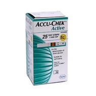 Accu-Chek Active Test Strips - 25pcs