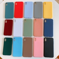 candy color silicone case for oppo for oppo reno 2 z 10x zoom a5 a9 2020 a11x f5 f7 a3s