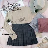 FANTAZOO♥長T 史努比查理布朗好友T 長袖T恤 818122