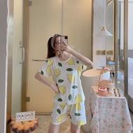 COD Fashion Terno Pajama For Adult Sleepwear Set For Women