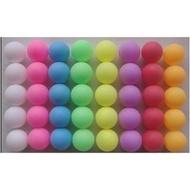 【紅海】深藍/深綠/深紅/粉/紫/橙/白/黑色, 抽獎/摸彩/遊戲用無接縫打磨彩色乒乓球_100顆500元