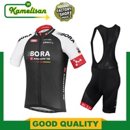 Bora Argon 18 TDF Edition Cycling Jersey Bib Shorts MTB Bike Bicycle Short Sleeve Jersey Shorts Pant Bike Clothing