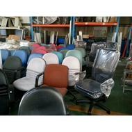 桃園國際二手貨中心---皮製辦公椅 會議椅 {另有多款辦公用椅.資料鐵櫃..歡迎選購}