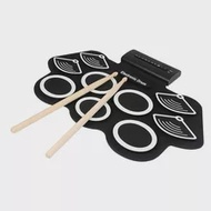 Electronic Drum Set for Kids Electronic Drum Set, Adult Beginner Portable Roll Up Electronic Drum Kit, Gift for Kids