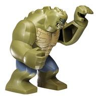 【玩具】  lego 樂高 超級英雄 人仔 鱷魚殺手 sh280 killercroc 原封 76055