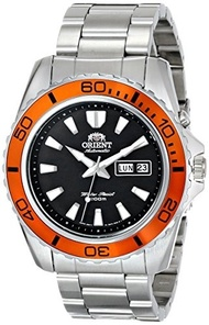 Orient Mens FEM75004B9 Mako XL Stainless Steel Watch