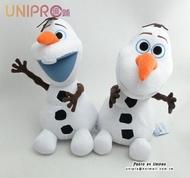 【UNIPRO】迪士尼 冰雪奇緣 雪寶 30cm 絨毛玩偶 娃娃 正版授權 FROZEN