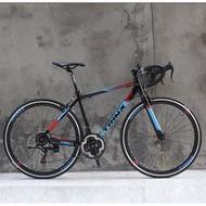 Ready stock Trinx Tempo 1.0 Road Bike Bicycle Shimano (Double Brake)