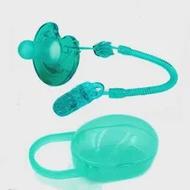 1PCSเด็กSolid Pacifierกล่องจุกนมหลอกคอนเทนเนอร์ผู้ถือPacifier Chainกระเป๋าเดินทางปลอดภัยผู้ถือPacifier Anti-Dropคลิป