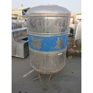[龍宗清] 梅花白鐵水塔(厚料) (19030102-0023)1000L 1噸 ST水塔 不銹鋼水塔 不鏽鋼水塔