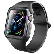 Clayco Case for Apple Watch 5/4/6 Watch SE Band 44mm/40mm [Hera Series] Shock Resistant Ultra Slim Protective Bumper Case with Strap Bands