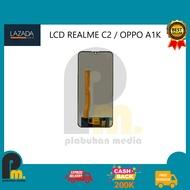 LCD REALME C2 / OPPO A1K FULLSET + TOUCHSCREEN BLACK ORIGINAL
