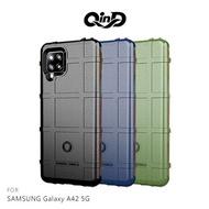 QinD SAMSUNG Galaxy A42 5G 戰術護盾保護套