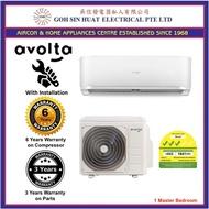 Avolta 3 Ticks System 1 Air Conditioner Air Con Aircon for 1 master bedroom + NEW Installation