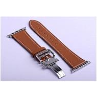 หนังสำหรับสายคาด Apple Watch 44มม.40มม.สายนาฬิกา Apple Watch 38มม.42มม.หัวเข็มขัด Applewatch Band Series 3 4 5 6 SE